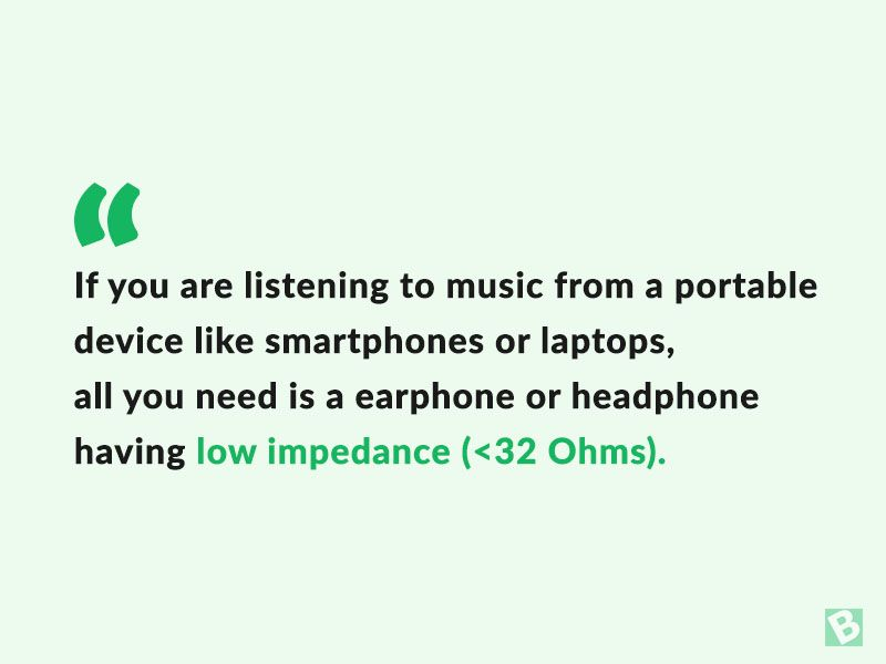 impedance-in-earphones