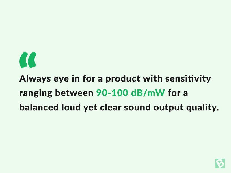 sensitivity-in-earphones