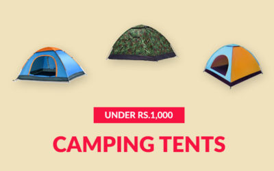Best Camping Tents Under Rs.1,000 (September 2019)