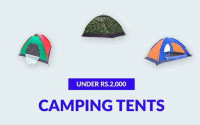 Best Camping Tents Under Rs.2,000 (September 2019)