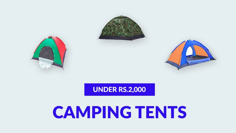 Best Camping Tents Under Rs.2,000 (December 2019)